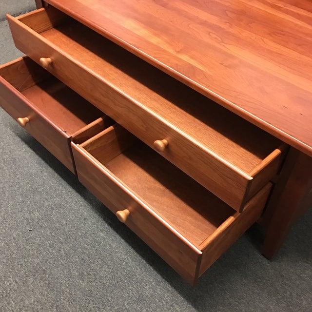 3-Drawer Cherry Coffee Table