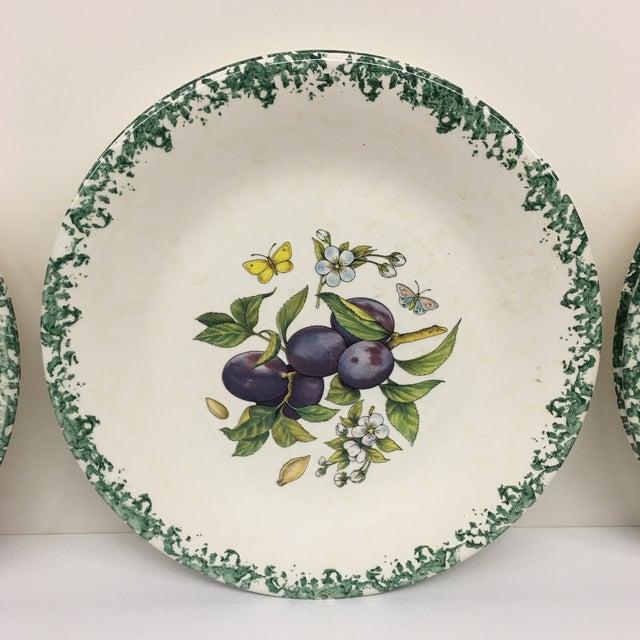 Italian Tre Ci Fruit Plates - Set of 6 - Image 3 of 11