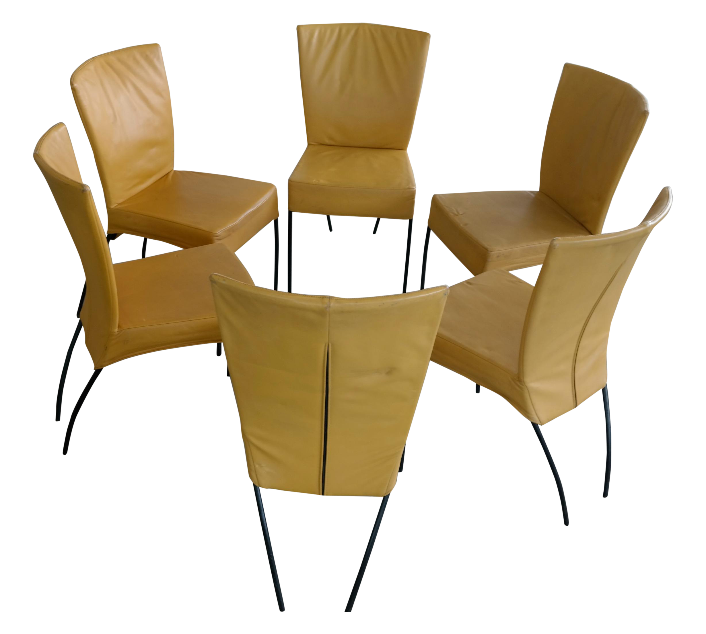 Montis Spica Mid Century Dining Chairs   Set Of 6
