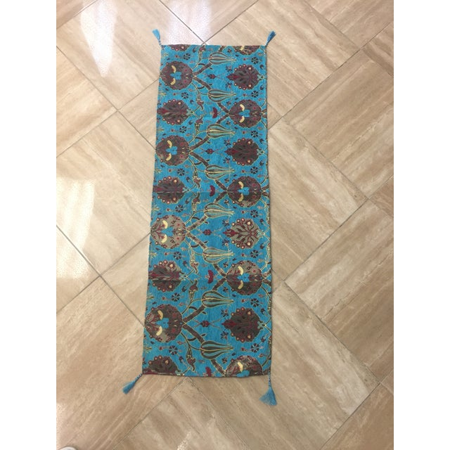 Authentic Turkish Motif Table Runner - Image 2 of 6