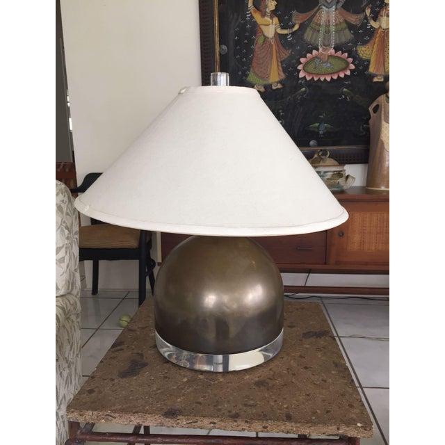 Mid-Century Squat Table Lamp - Image 3 of 6