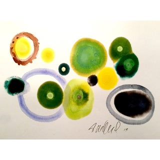 Olives Abstract Watercolor