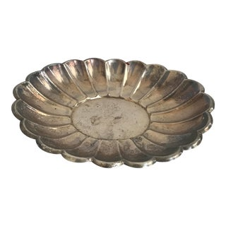 Vintage Silver Plate Dish