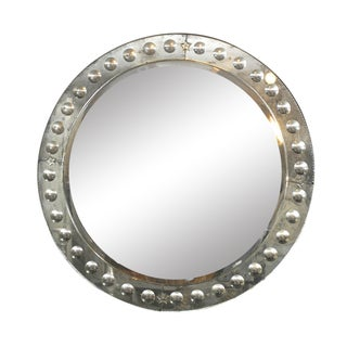 "The Round ""Bullseye"" Venetian Style Mirror"