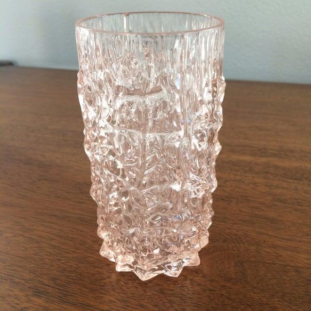 Image of Mid-Century Pink Plastic Glasses
