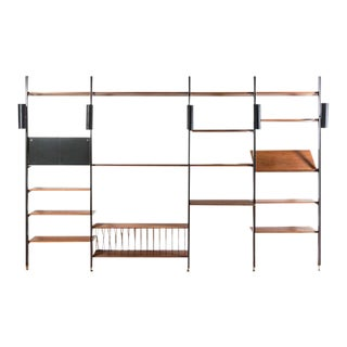 George Nelson 4-Bay Wall Unit
