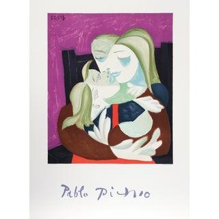 Pablo Picasso Lithograph - Femme Et Enfant Enlaces