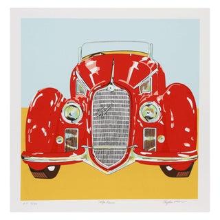 Phyllis Krim Serigraph - Alfa Romeo