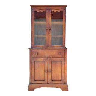 Vintage Rosewood China Cabinet