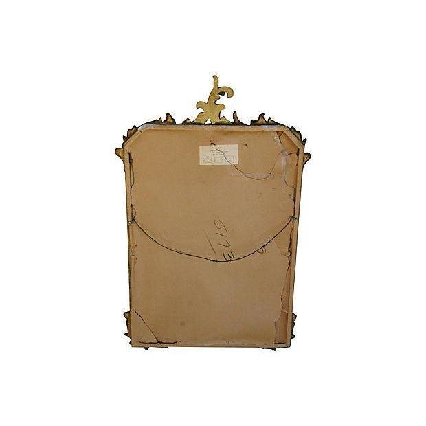 Antique French Gilt & Gesso Mirror - Image 7 of 7