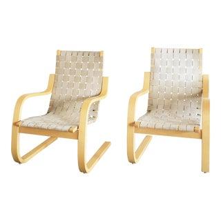 Vintage Alvar Aalto Artek Lounge Chair - a Pair