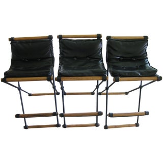 1960's Cleo Baldon Campaign Low Back Chairs - 3