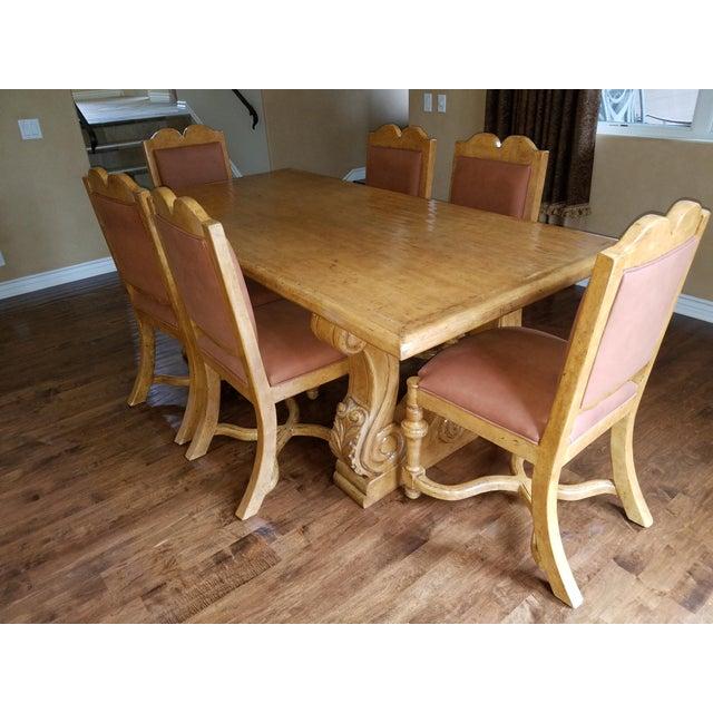 arte de mexico custom dining room set chairish
