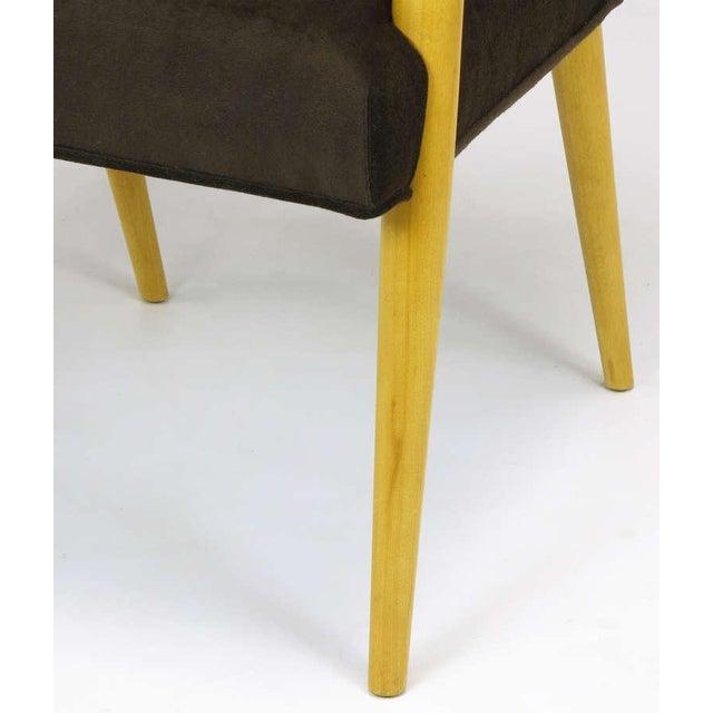 Image of Pair T.H. Robsjohn-Gibbings For Widdicomb Open Arm Chairs.
