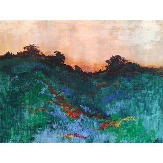 """Wildflower Hillside"" Giclee Print"
