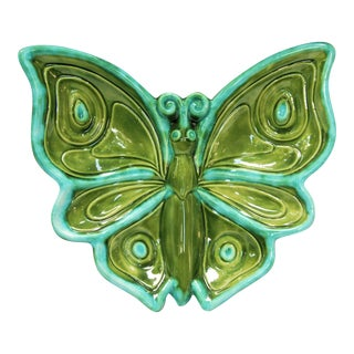 1970s Vintage Butterfly Dish