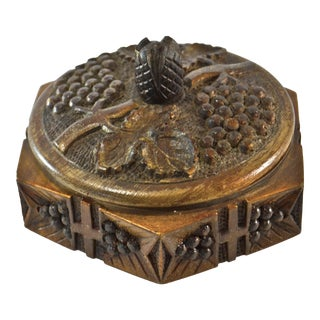 Hexagonal Black Forest Wood Box