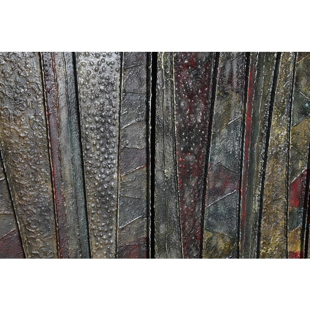 """EXCEPTIONAL 1962 PAUL EVANS """"DEEP RELIEF"""" CABINET - Image 4 of 10"""