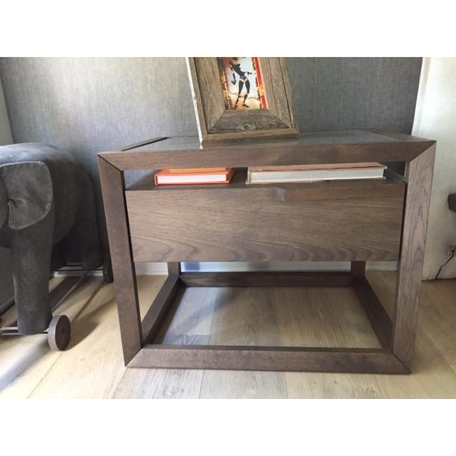 Image of Modern Style Wooden Nightstand