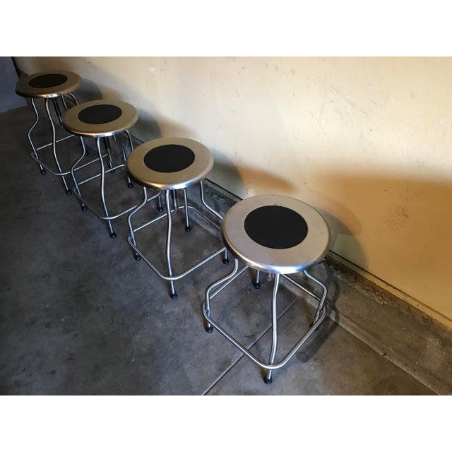 Design Within Reach Precision Stools - Set of 4 - Image 2 of 4