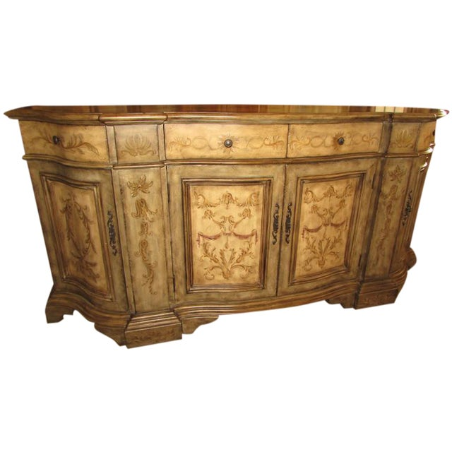 Hooker Furniture Hand Painted Buffet - Image 1 of 9