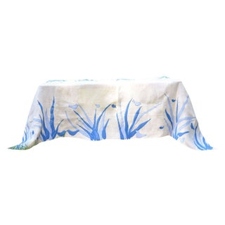 Blue Bird Table Cloth