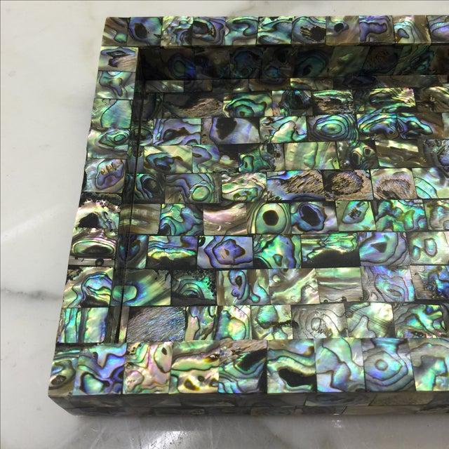 Abalone Mosaic Tray - Image 4 of 5