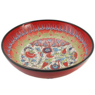Scarlet Ceramic Samur Bowl