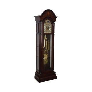 Sligh Inlaid Mahogany Grandfather Clock