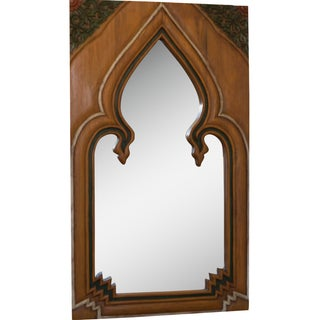 Vintage Gothic Cathedral Window Mirror