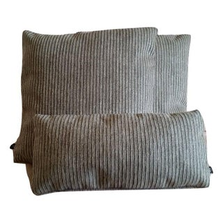 Holly Hunt Breakers Stripe Pillow Covers - Set of 3