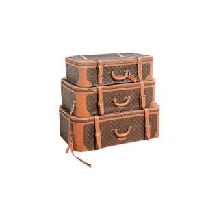 Louis Vuitton Vintage Luggage Cases - Set of 3