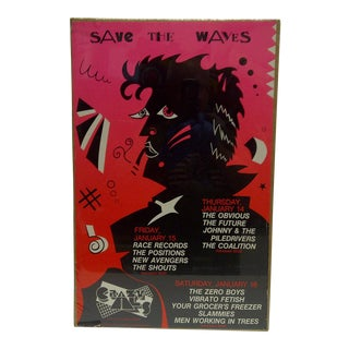 """Save the Waves"" Concert Poster"