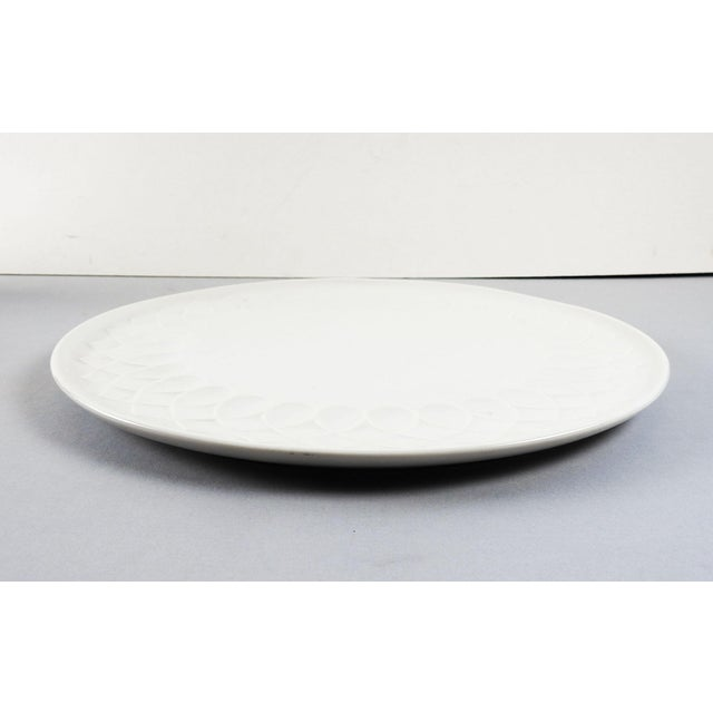 White Porcelain Serving Plate - Image 3 of 4