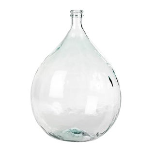 Vintage Style Clear Glass Bottle
