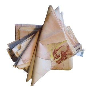 Pink Orchid 11 Napkins & 3 Table Runners