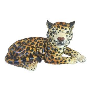 Vintage Italian Leopard Cub