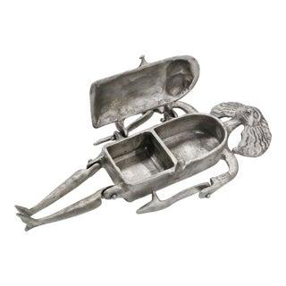 Donald Drumm Aluminum Figural Trinket Box