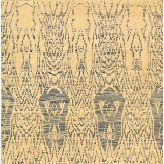 Pasargad Ikat Wool Rug - 4′11″ × 5′1″
