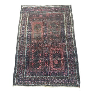 Antique Tribal Baluch Rug - 3′4″ × 4′9″