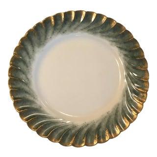 Vintage Scalloped Formal Plates - Set of 6