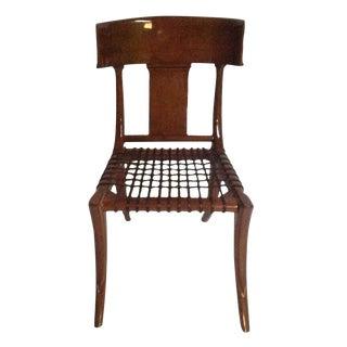 Mid Century Modern Style Klismos Dining Chair
