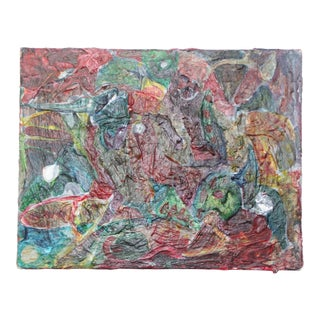 Original Vintage Abstract Painting