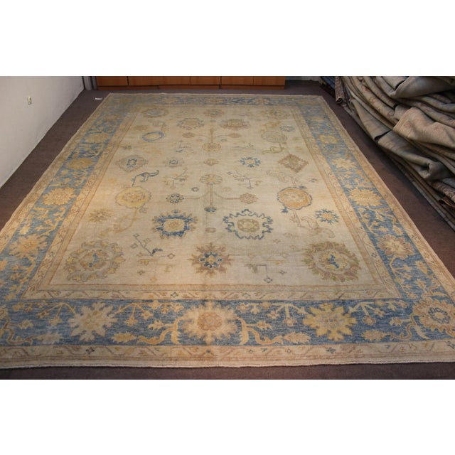 Turkish Anatolia Oushak Area Rug - 10' X 14' - Image 2 of 9
