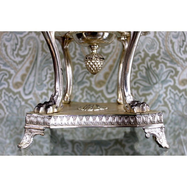 Silver Plated Jardiniere with Eagle Handles - Image 4 of 4