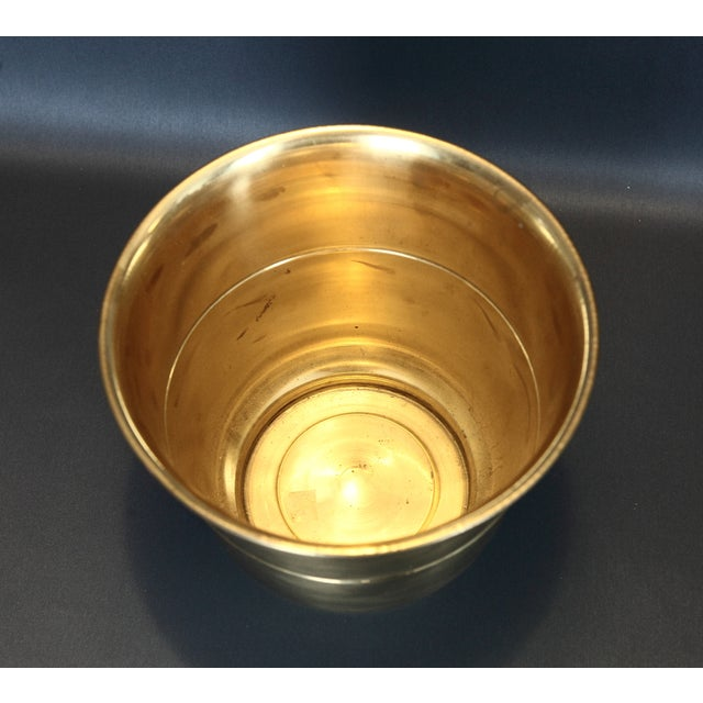 Solid Brass Planter - Image 3 of 4