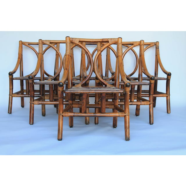 Ficks Reed Dining Chairs - Set of 6 - Image 3 of 8