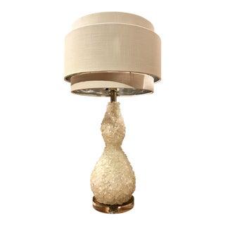 Quartz Stone Table Lamp