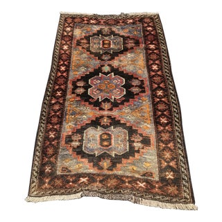 Vintage Persian Hamadan Rug - 2′1″ × 4′9″