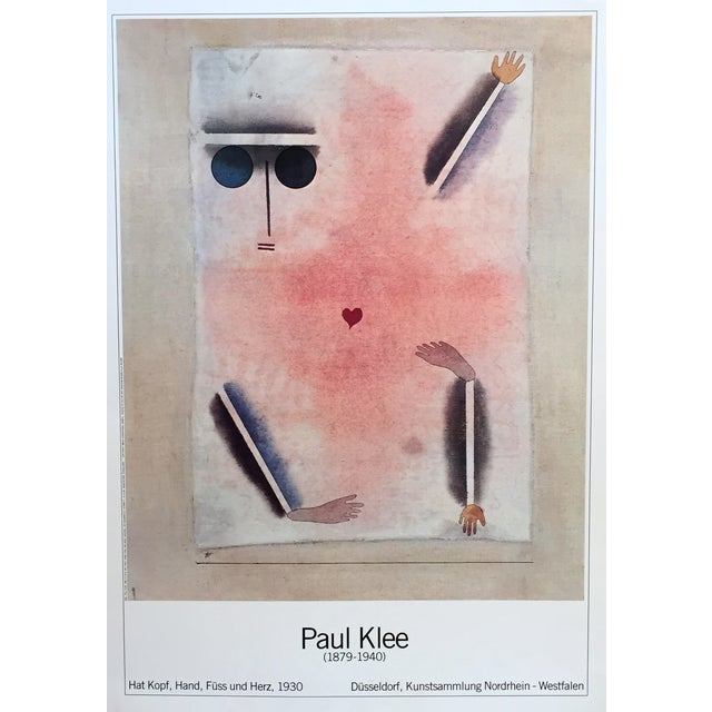 Paul Klee German Exhibition Poster - Image 1 of 2